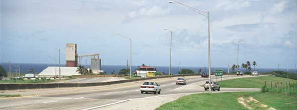West end of PR-22 autopista