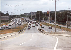 Ramp from PR-52 to PR-2 westbound