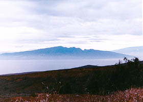 View of west Maui from Keomoku Rd.