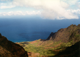 Kalalau Valley view