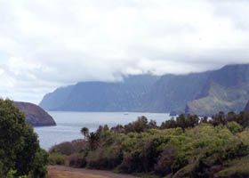 Kalawao Cove overview