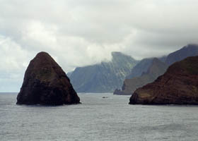 Okala Island east of Kalawao Cove