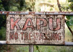 Kapu - No Trespassing