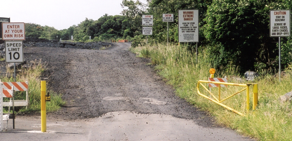 Hawaii highways road photos lava closures page of