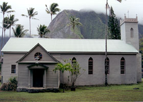 St. Philomena Church in Kalawao